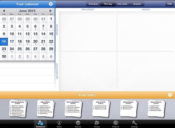 Beesy iPad note app focuses on business planning pic 2