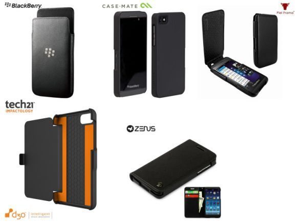 Best BlackBerry Z10 understated style professional cases