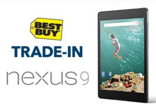 Best Buy Nexus 9 offer