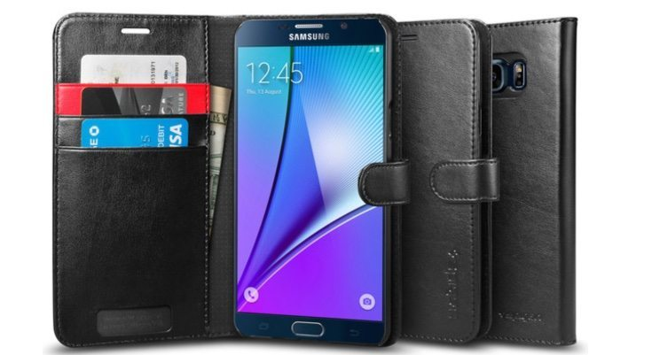 Best Samsung Galaxy Note 5 case choices from Spigen b