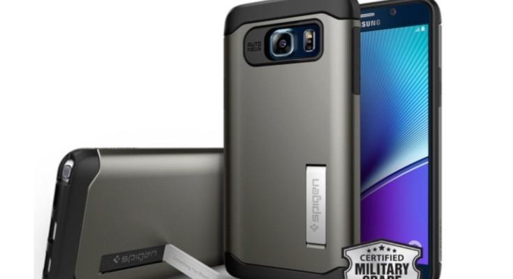 Best Samsung Galaxy Note 5 case choices from Spigen
