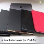 Best iPad Air cases in folio style