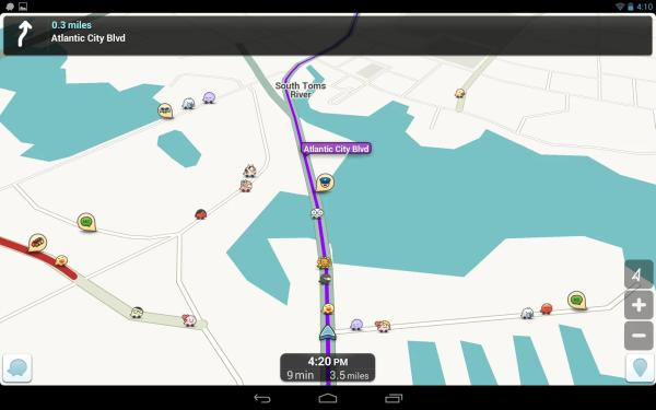 Best traffic app with GPS, news is Waze