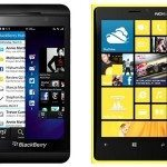 BlackBerry 10 vs. Nokia Lumia sales figures