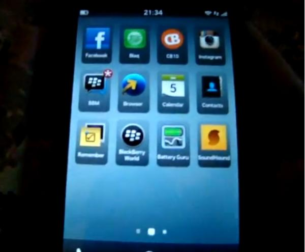 BlackBerry 10.2 update stars in video with new features