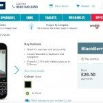 BlackBerry Classic Carphone Warehouse