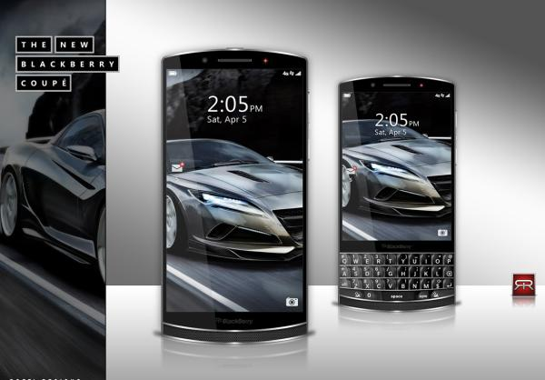 BlackBerry Coupe design would win plaudits