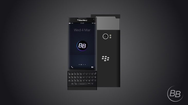 BlackBerry Glide design b
