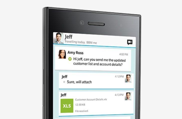 BlackBerry Leap April release b