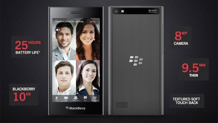 BlackBerry Leap april release