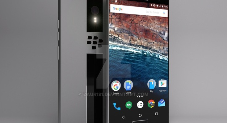 BlackBerry Nova design shows industrial slickness