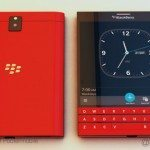 Red BlackBerry Passport