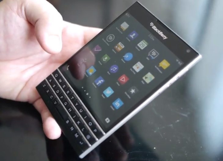 BlackBerry Passport 4K video specs teased