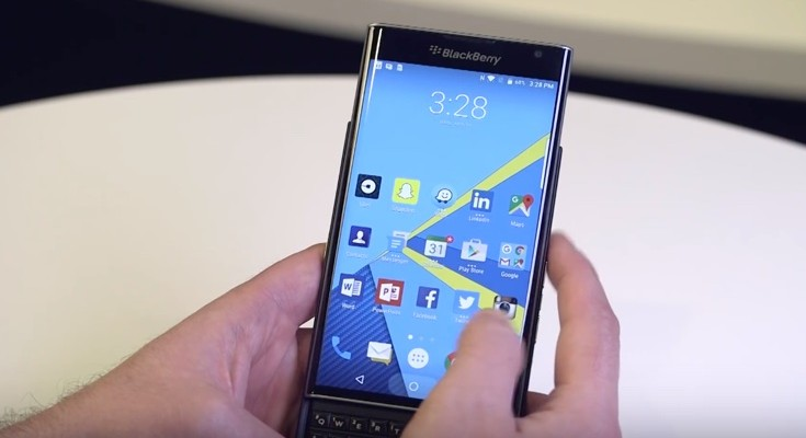 BlackBerry Priv 6.0 Marshmallow update now available