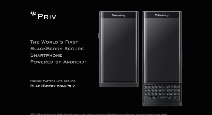 BlackBerry Priv Verizon release soon is confirmed