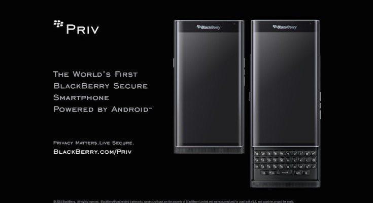 BlackBerry Priv confirmed for Verizon