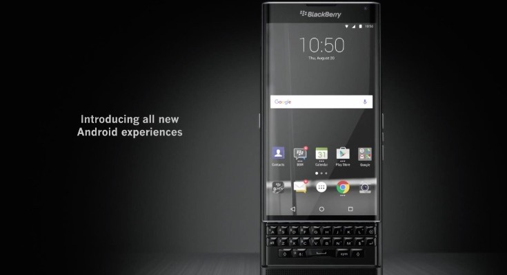 BlackBerry Priv features official video could make you want one