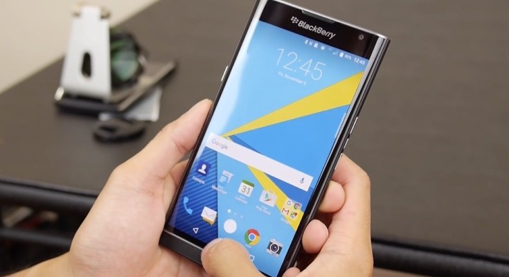 BlackBerry Priv treated to first software update