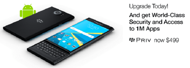 Hot Deal Alert: You can Save $150 on the BlackBerry Priv