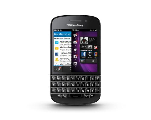 BlackBerry Q10 UK SIM free price, not for faint hearted