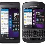BlackBerry Q10 vs. Z10 and iPhone 5