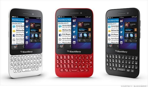 BlackBerry Q5 Virgin Media contract prices and extras
