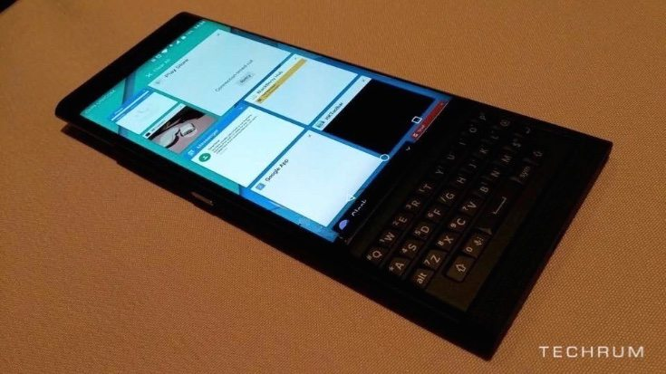 BlackBerry Venice new hands-on images c