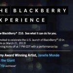 BlackBerry to hold launch event in US for Z10 release