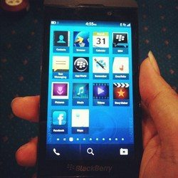 Possibly the BlackBerry 10 L Series smartphone