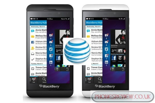 Blackberry Z10 AT&T release date speculation