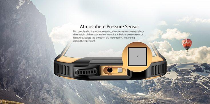 Blackview BV6000s Atmospheric Pressure Sensor