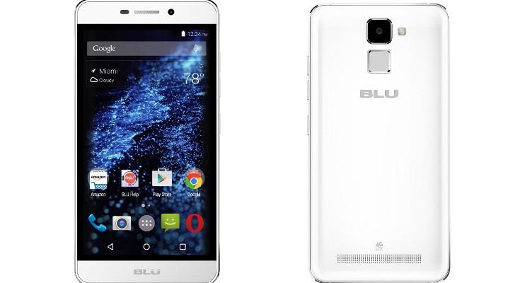 BLU Life Mark gets listed with Fingerprint Scanner for Rs. 8,999
