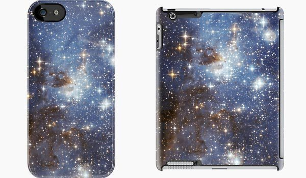 Blue-Galaxy-iPhone-5-iPad-case