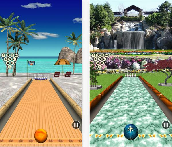 Bowling Paradise free iOS game won't disappoint