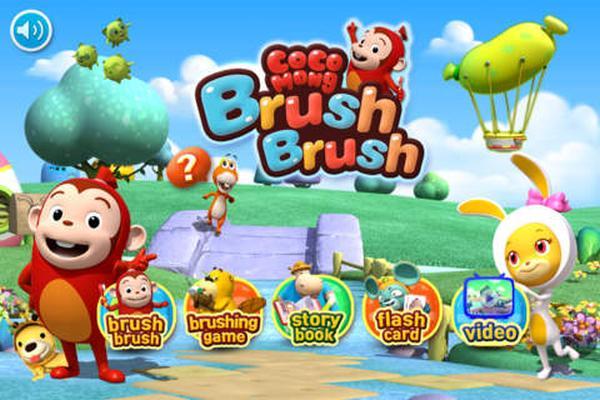 Brush Brush iPhone app teaches kids oral hygiene