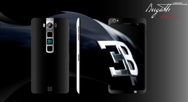 Bugatti Chronos smartphone design comes with specs
