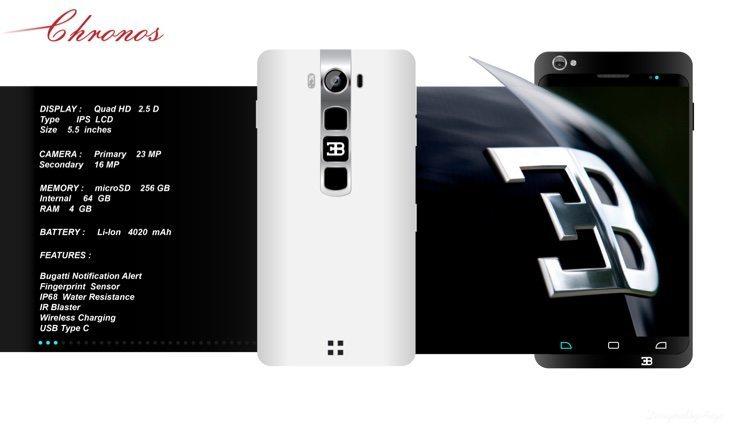 Bugatti Chronos smartphone b