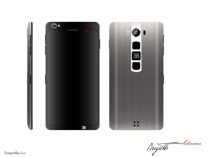 Bugatti Chronos smartphone d