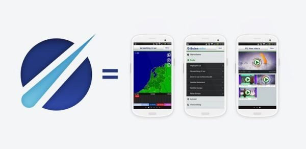 Buienradar weather app update for Android