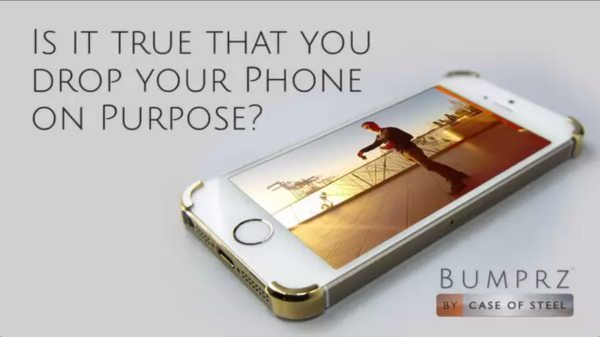 Bumprz eliminates and mocks iPhone cases