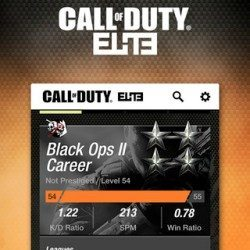 Call of Duty Elite update adds Black Ops 2 support