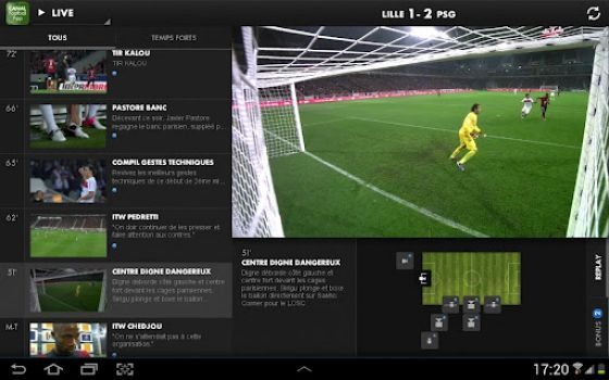 Canal Football Club app for Android & iOS
