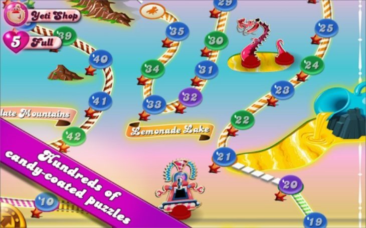 Candy Crush Saga Android update