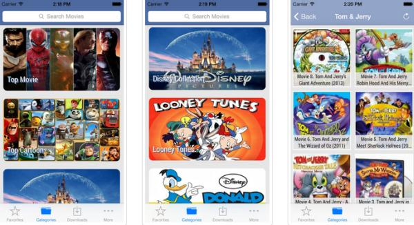 Cartoon HD app in surprise update download