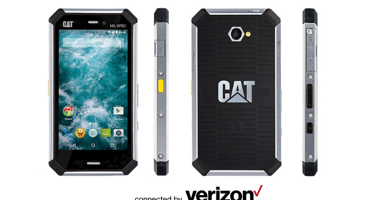 Verizon launches the rough and tumble Cat S50c