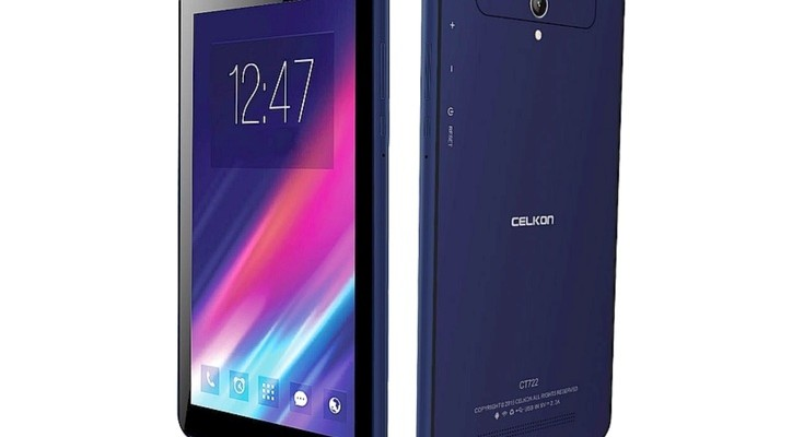 Celkon CT722 tablet has a cheap price