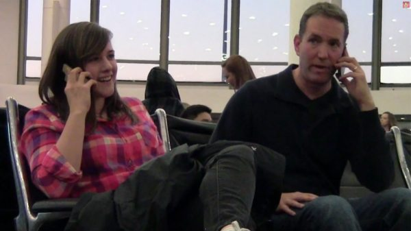 Cell phone crashing at the airport must watch prank video