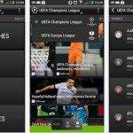 Champions League scores and more from free Android app