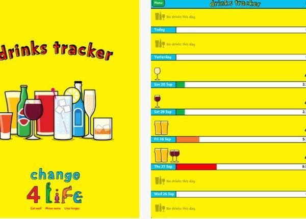 Change4Life drinks tracker