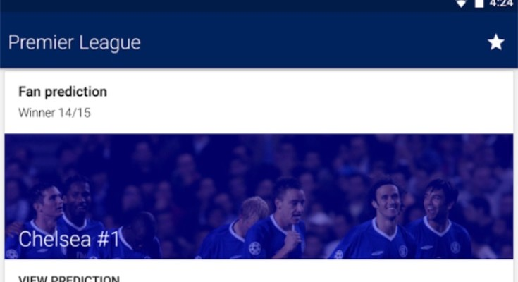 Chelsea FC lineup news, live scores today with app update